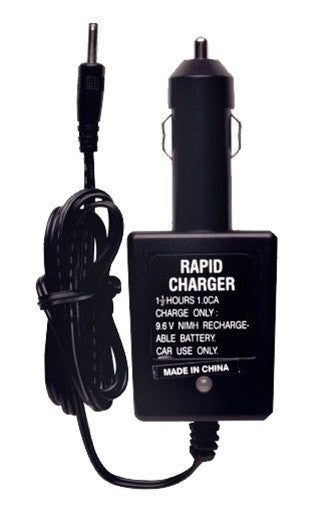 Kingman Spyder Rechargeable 9.6V Battery & Car Charger Combo Pack