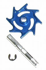 Halo Aluminum Rip Drive Kit - Blue