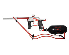 Warrior Paintball Gun Stand - Red/Black