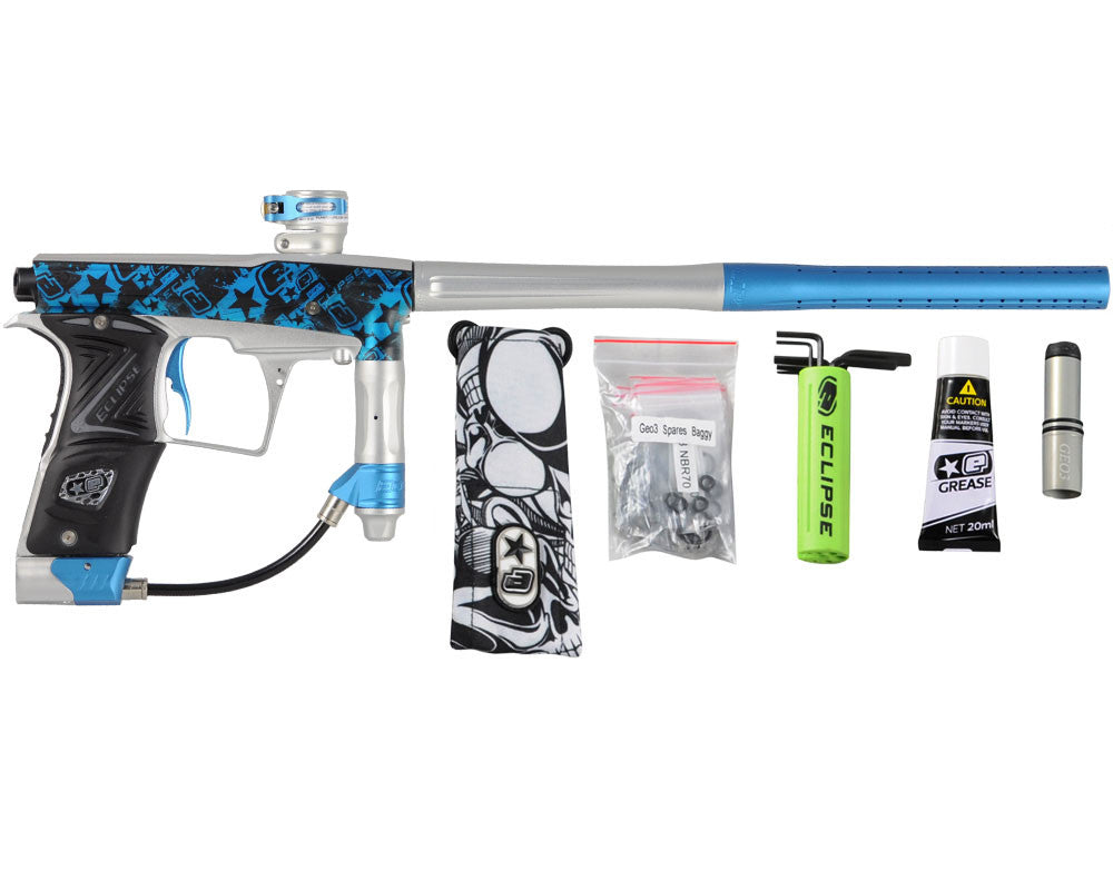 Planet Eclipse Geo 3 Paintball Gun - EStar Blue