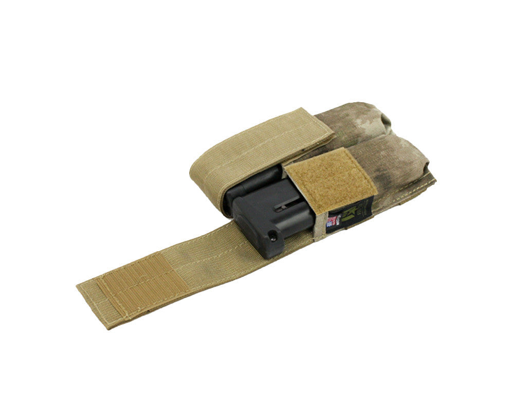 Full Clip Gen 2 TPX Double Mag Pouch - Atacs