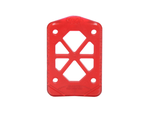 Grind King Soft - Red - Skateboard Riser (2 PC)
