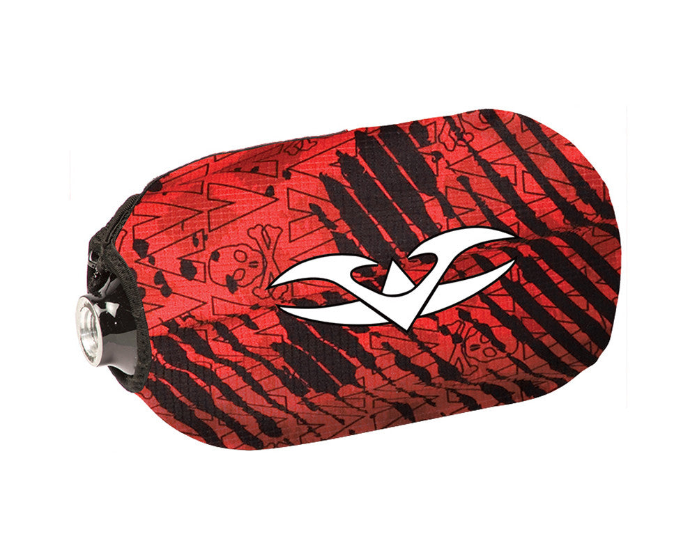 2013 Valken Redemption Tank Cover - Red Scar