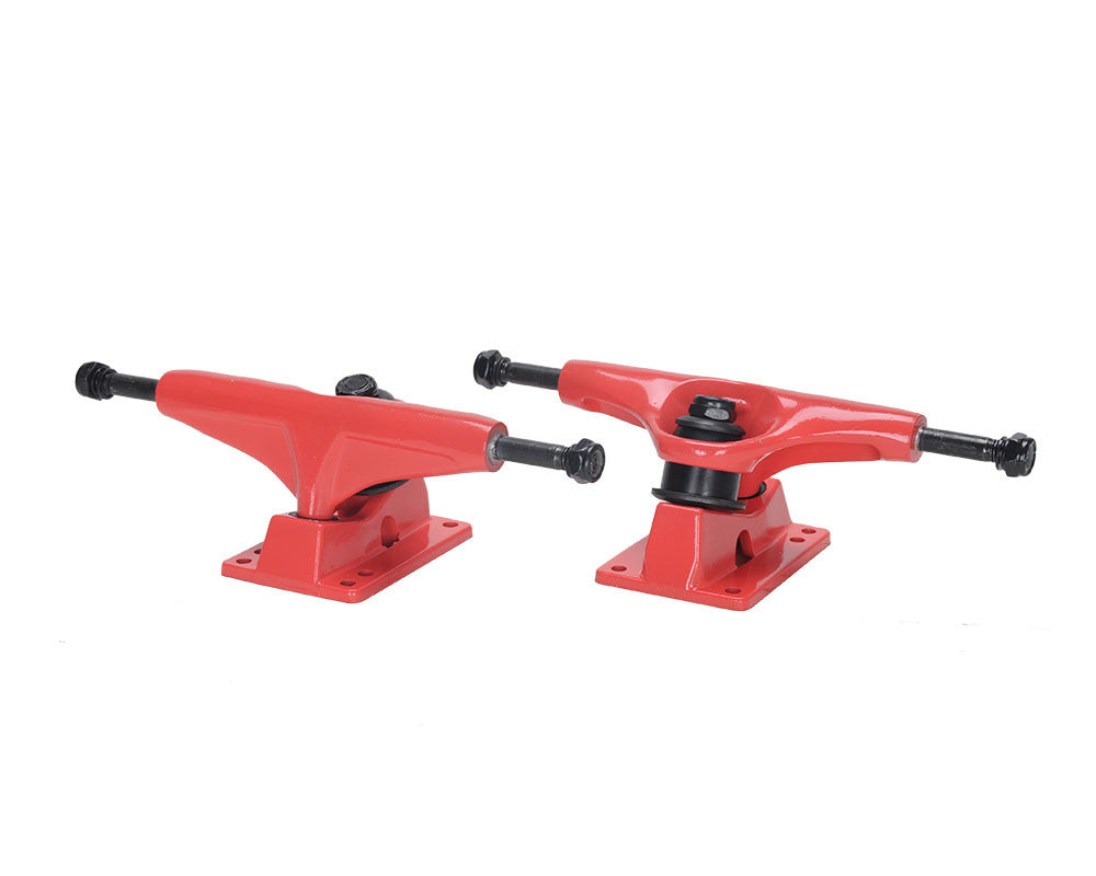 Action Village Toro - Red/Red - 7.5in - Skateboard Trucks (Set of 2)