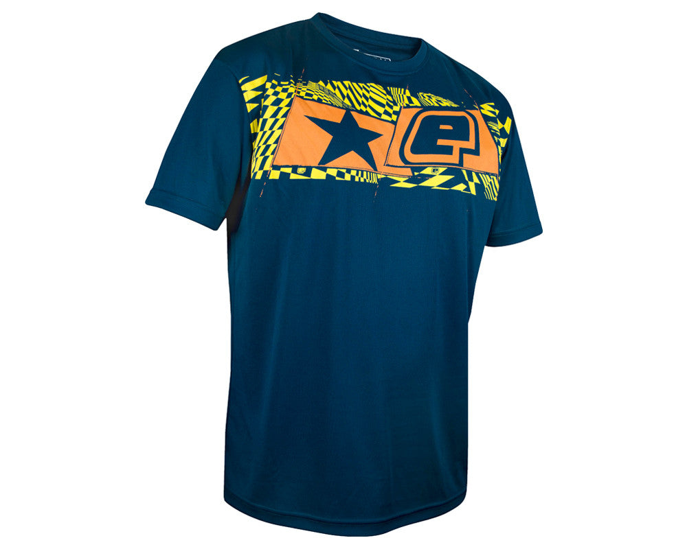 Planet Eclipse Men's 2013 Illusion T-Shirt - Blue/Orange