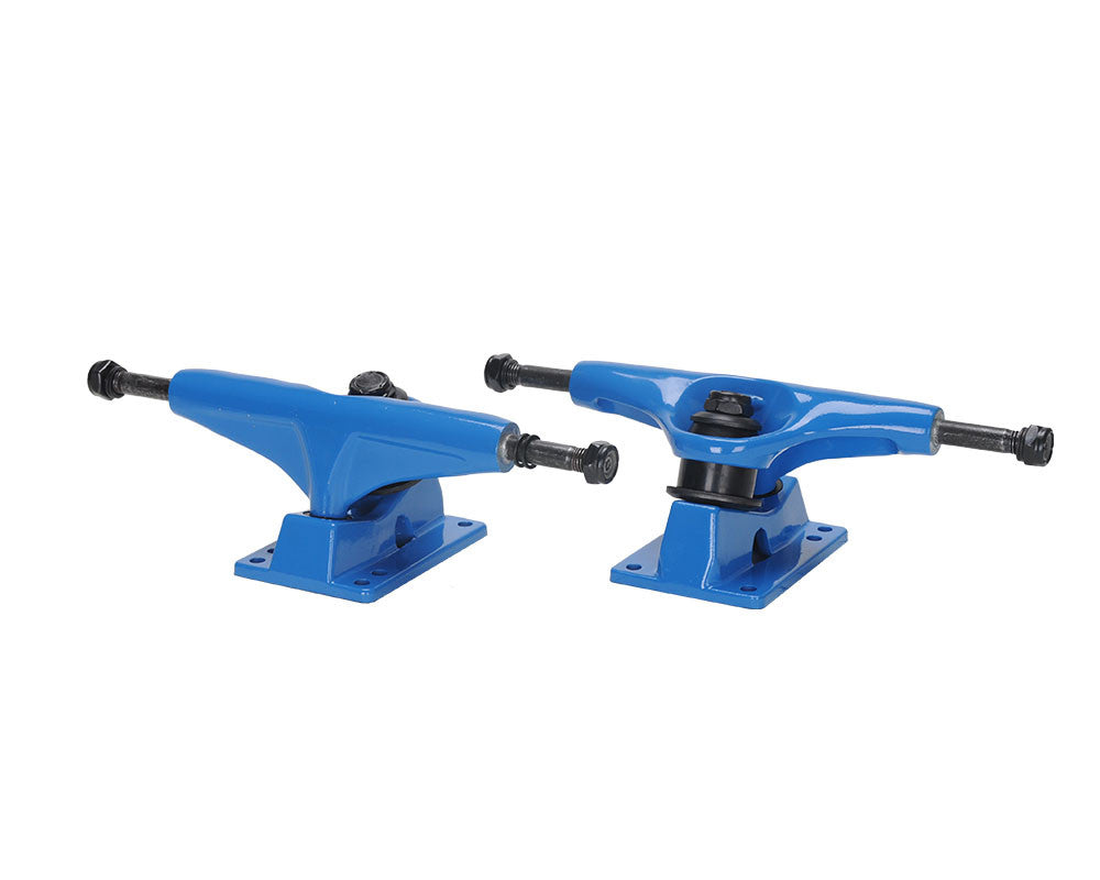 Action Village Toro - Blue/Blue - 7.5in - Skateboard Trucks (Set of 2)