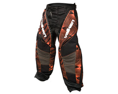 2013 Valken Redemption Paintball Pants - Orange Slash