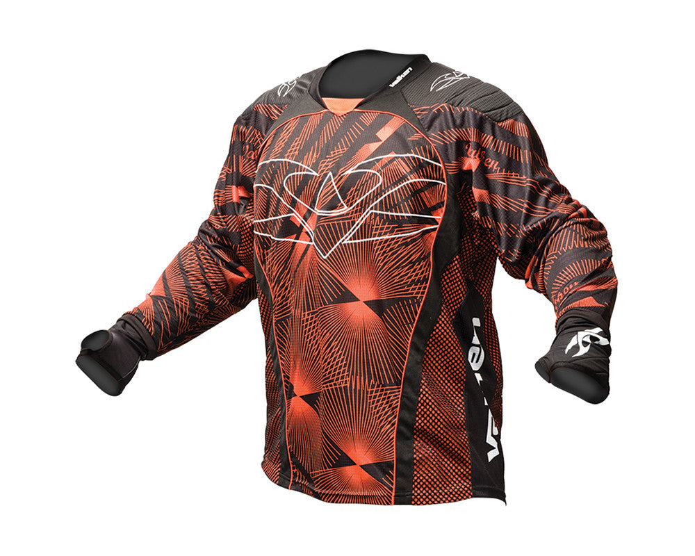 2013 Valken Redemption Paintball Jersey - Orange Slash