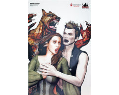 Vampire & Werewolf Shooting Target - Twilight - 3 Pack