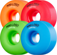 Mini Logo C-Cut - Multi - 53mm 101a - Skateboard Wheels (Set of 4)
