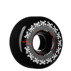 Bones Street Tech Formula Rat Pack - Black - 51mm 83b - Skateboard Wheels (Set of 4)