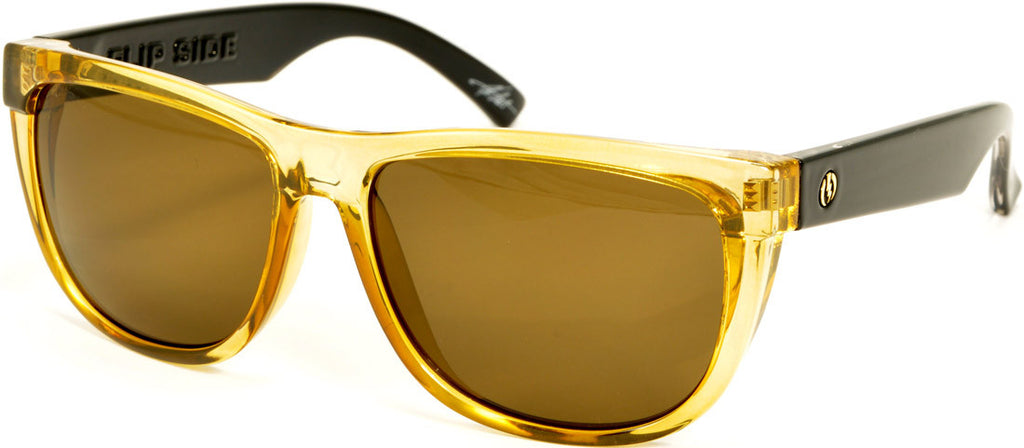 Electric Visual Flipside - Gold - Mens Sunglasses