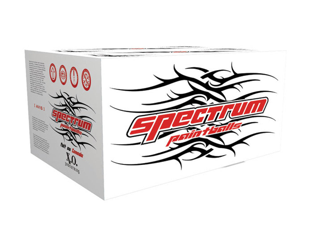 XO Spectrum Paintballs Case 2000 Rounds - White Fill