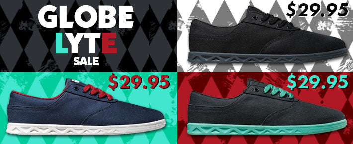 Globe Shoes on Sale