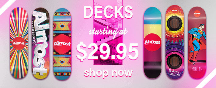 Almost Deck Sale