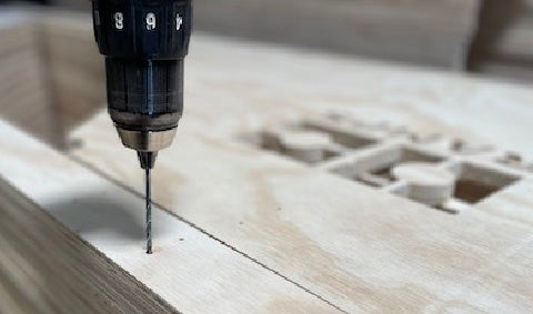 4. Pre-cut and Pre-drilled boards ensure simple installation