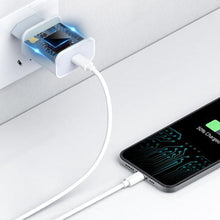 Load image into Gallery viewer, iPhone USB Type-C Power Adapter with Lightning Cable