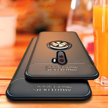 Load image into Gallery viewer, OnePlus 8 Pro Metallic Ring Holder Matte Finish Case