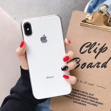 Load image into Gallery viewer, MyCase ® iPhone X Chrome Plating Soft Case