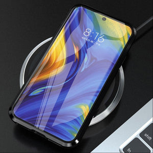 Galaxy Note 10/10 Plus electronic Auto Fit (Front+Back) Glass Magnetic Case