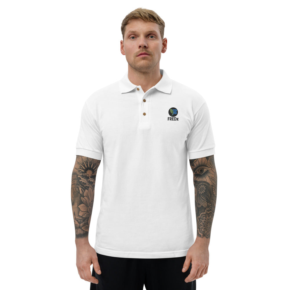 FREDX Embroidered Polo Shirt