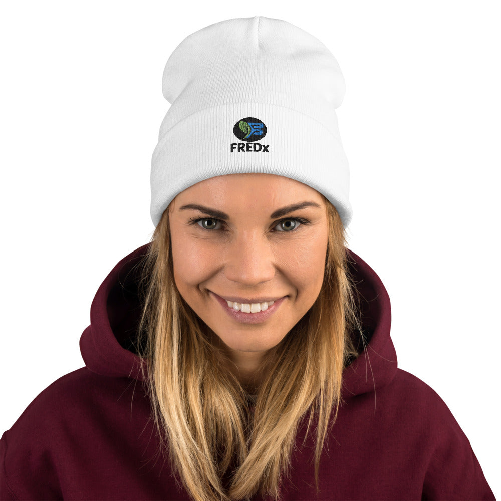 FREDX Embroidered Beanie