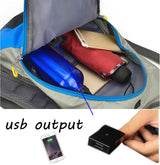 6W 6V USB Backpack With Solar Panel Can Charge A Power Bank Or Smartphone Great For Outdoor Camping Climbing Travel Hiking