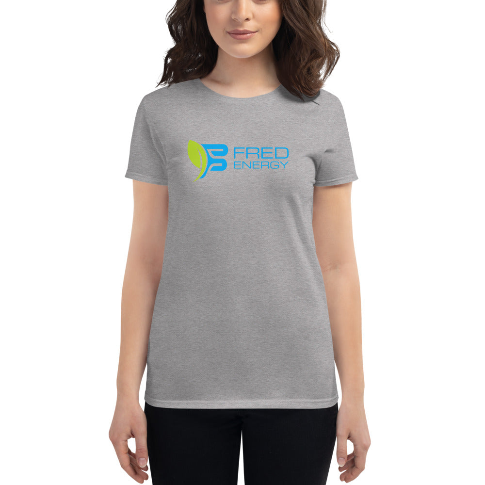 FRED Energy Women's short sleeve t-shirt