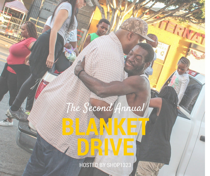 G I V E | Warm the Streets of LA Blanket Drive!