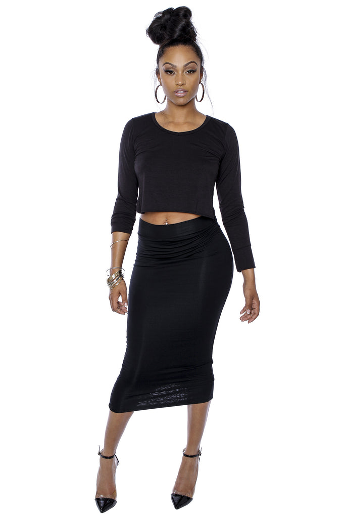 Koko Pencil Skirt