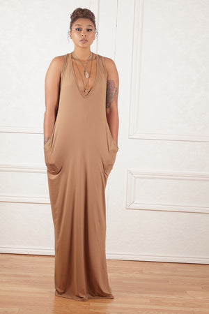 Kennedi Cross Back Maxi