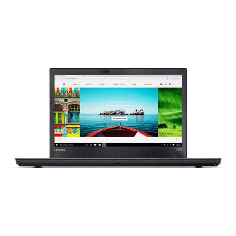 "Lenovo 14"" ThinkPad T470 Laptop i5-7300U 8GB Ram 256GB SSD Win 10 Pro 20HES0RP00"