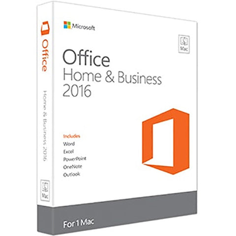 Microsoft Office Home & Business 2016 Mac 1-User License Product Key Code Boxed