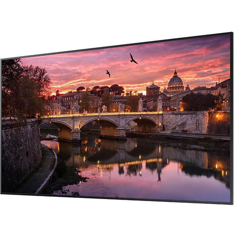 "Samsung QB75R 75"" Class HDR 4K UHD Commercial Smart LED Display"