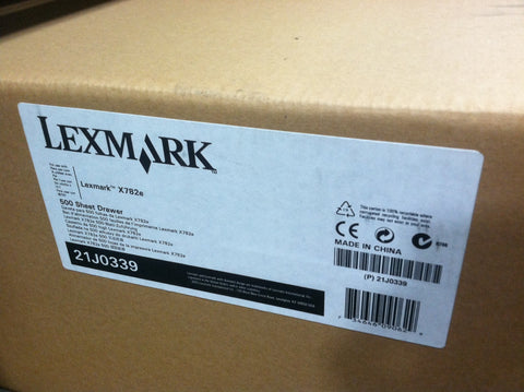 Lexmark 21J0339 500 Sheet Drawer for X782E Printer