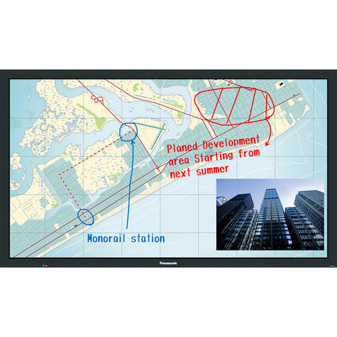 "Panasonic 65"" BF1 Series Multi-Touch Full HD Professional Display TV TH-65BF1U"