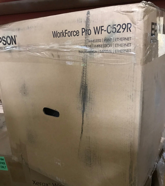Epson WorkForce Pro WF-C529R Workgroup Color Printer C11CG79201-LB