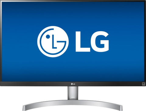 "LG - 27UK600-W 27"" IPS LED 4K UHD FreeSync Monitor - Gray/White"