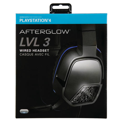 PDP Afterglow LVL 3 Wired Headset for PS4 051-032