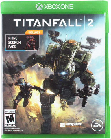 Titanfall 2 Bonus Nitro Scorch Pack Electronic Arts Xbox One 37242 XB1