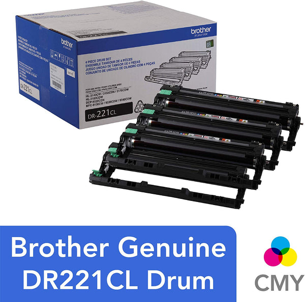 Brother Printer DR221CL Toner Drum Unit DR-221CL