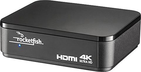 Rocketfish 2-Output HDMI Splitter, 4K Ultra HD and HDR Compatible RF-G1502