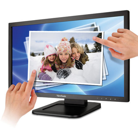 "ViewSonic 22"" Widescreen Multi-Touch Full HD 1080p LED Monitor TD2220"