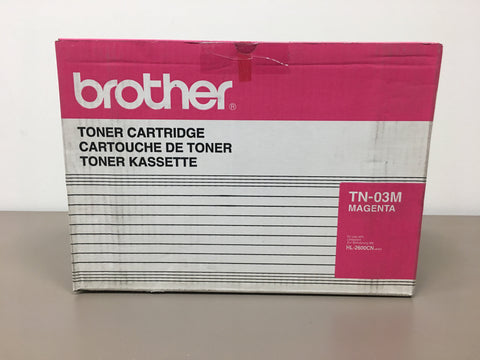 Brother TN03M Magenta Toner Cartridge - 7,200 Pages