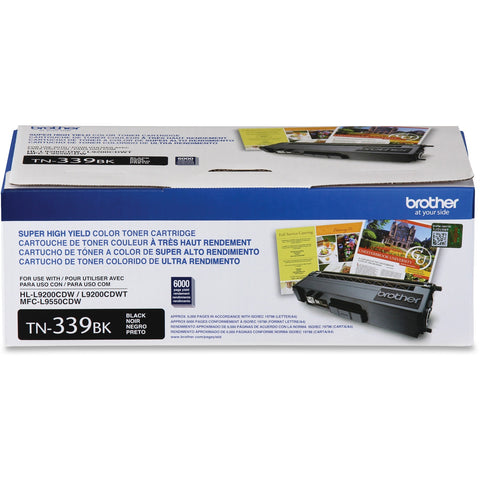 Brother Super High Yield Color Toner Cartridge TN339BK