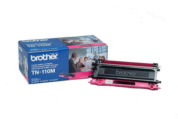 Brother TN-110M Magenta Toner Cartridge for HL-4040CN HL-4070CDW Opened