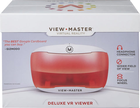 Mattel View-Master Deluxe 3D VR Viewer for Smartphone DTH61