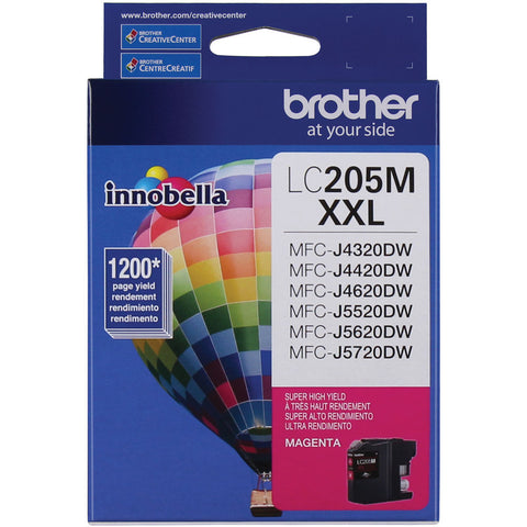 Brother Innobella LC205M Ink Cartridge - Magenta - Inkjet - Super High Yield