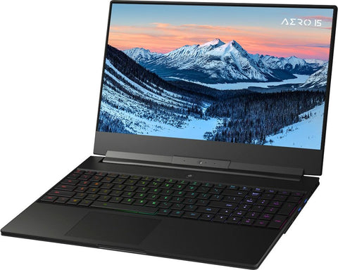 "GIGABYTE AERO 15.6"" 4K Gaming Laptop i7 16GB NVIDIA GeForce RTX 2060 512GB SSD"