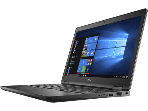 "Dell 8H9GC Latitude 5580 Laptop 15.6"" FHD i5-7440HQ 8GB Ram 500GB HD Win 10 Pro"